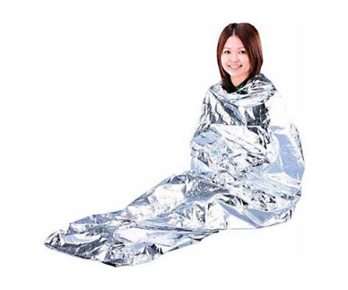 非常用保温アルミシート 寝袋型 JTH-1020 シルバー 532189/JTH-1020
