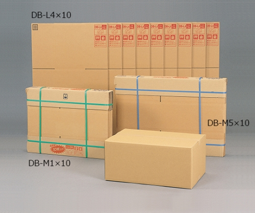 [Discontinued]10 Corrugated Cardboard Box DB-M1 and others