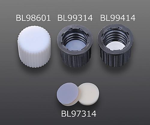 GL14用黒色PPS製スクリューキャップ BL99314