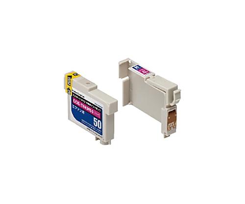 [取扱停止]互換インクカートリッジ エプソン対応 ICM50互換/マゼンタ