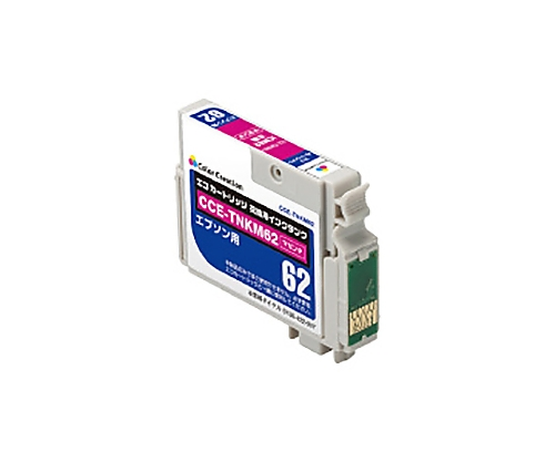 [取扱停止]互換インクカートリッジ エプソン対応 ICM62互換/マゼンタ