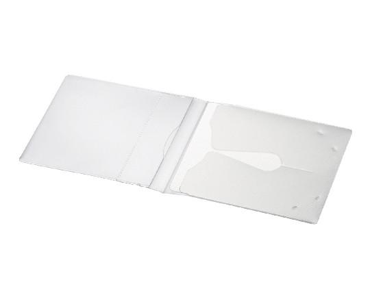 [取扱停止]CD用ケース<MEDIA PASS> 1枚収容 50枚セット 白 EDC-CME1-50W