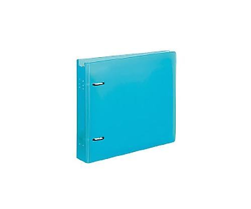 CD/DVDファイル 22枚収容 ケース付 ライトブルー EDF-CF221LB