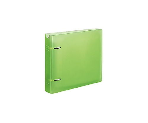 CD/DVDファイル 22枚収容 ケース付 ライトグリーン EDF-CF221LG