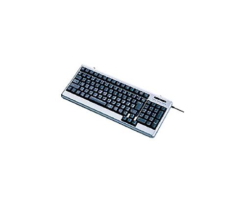 [取扱停止]メンブレン式キーボード 101キー USB&PS2両用 シルバー TK-UP01MASV