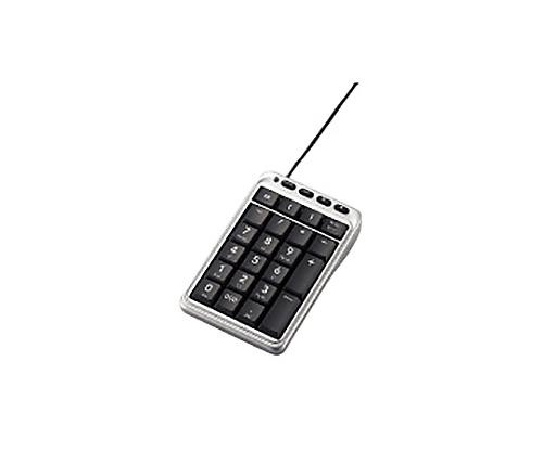 [取扱停止]ホットキー付テンキーボード メンブレン式/シルバー TK-TCM001SV