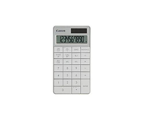 [取扱停止]ワイヤレステンキー電卓 X Mark I KRF ホワイト 5094B005
