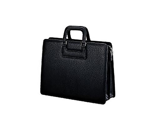 [取扱停止]ビジネスバッグ(高級手提げ) 黒 A4 W390×D150×H300mm カハ-A4T10D