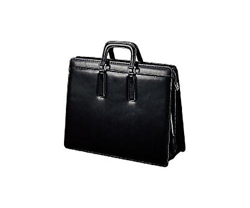 [取扱停止]ビジネスバッグ(高級手提げ) 黒 B4 W420×D140×H320mm カハ-B4T5D