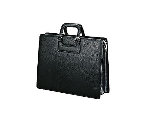 [取扱停止]ビジネスバッグ(高級手提げ) 黒 B4 W420×D150×H320mm カハ-B4T7D