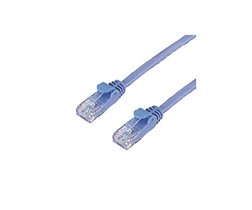 [取扱停止]プロテクタ付LANケーブル カテゴリ6 3m ブルー 簡易パッケージ LD-GP/BU3/C