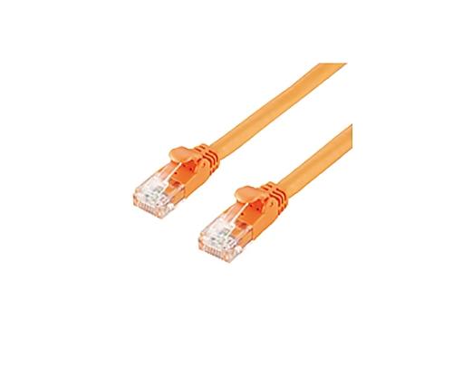 [取扱停止]LANケーブル (Cat6) 簡易PKG 3m オレンジ LD-GP/DR3/C