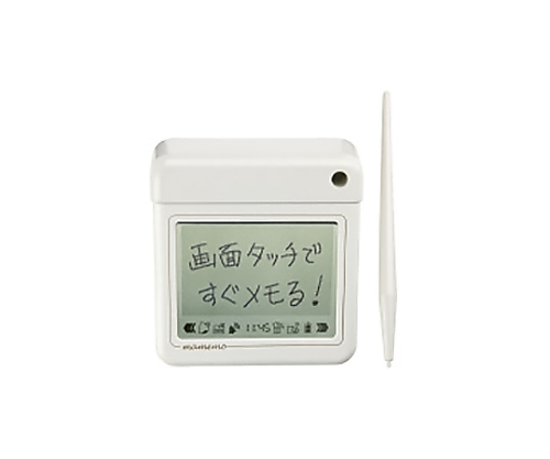 [取扱停止]卓状メモ「マメモ」 オフホワイト W93×D102×H36mm TM1シロ