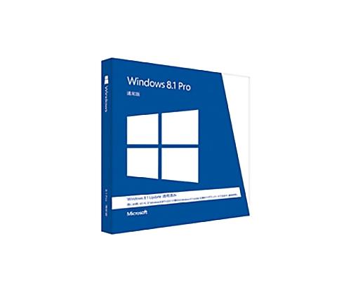[取扱停止]Windows8.1 Pro (Update適用済みパッケージ) FQC-08544