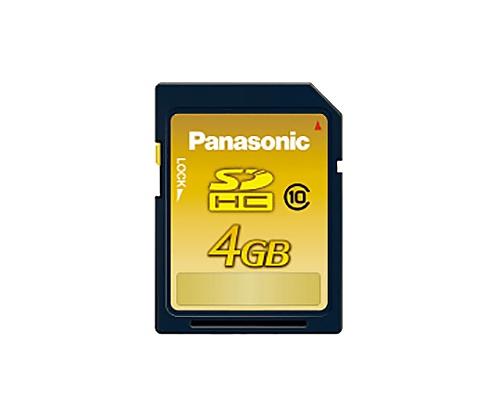 SDHCメモリーカード CLASS10 4GB RP-SDWA04GJK