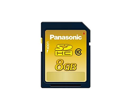 SDHCメモリーカード CLASS10 8GB RP-SDWA08GJK
