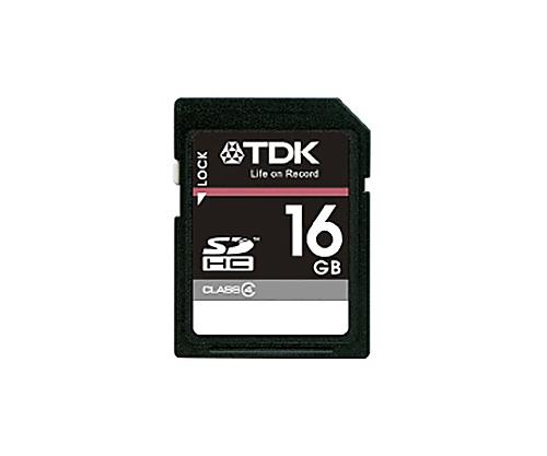 [取扱停止]SDHCメモリーカード 16GB CLASS4 T-SDHC16GB4