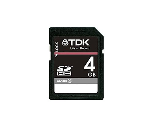[取扱停止]SDHCメモリーカード 4GB CLASS4 T-SDHC4GB4