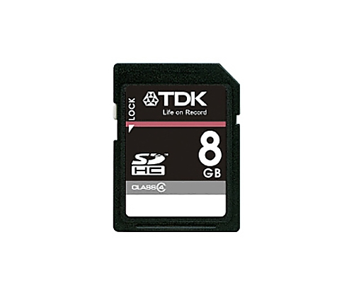 [取扱停止]SDHCメモリーカード 8GB CLASS4 T-SDHC8GB4