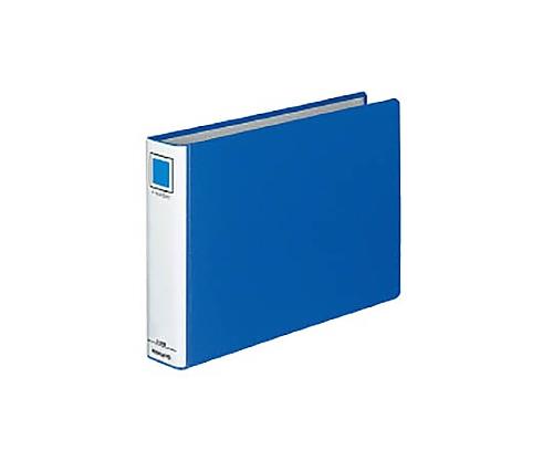 Kファイル A4横 40ミリとじ 2穴 青 フ-E845B
