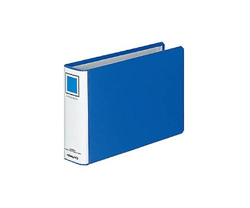 Kファイル A5横 40ミリとじ 2穴 青 フ-E847B