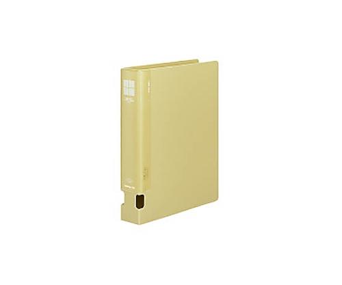 チューブファイル<PP> A4縦 40ミリとじ 2穴 黄 フ-F640NY