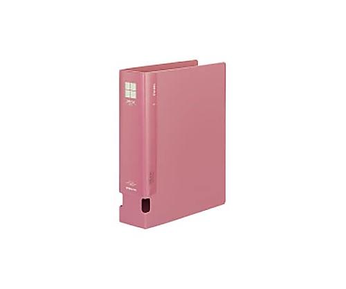チューブファイル<PP> A4縦 60ミリとじ 2穴 ピンク フ-F660NP