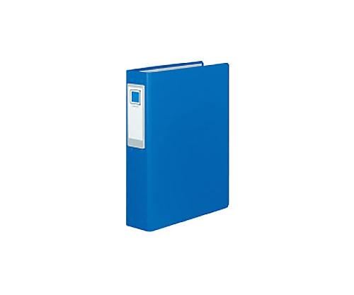チューブファイル<ロングボディ>(2穴) A4縦 2穴 青