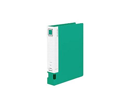 チューブファイルVツイン(オール樹脂) A4縦40mmとじ 2穴緑 フ-VT640NG