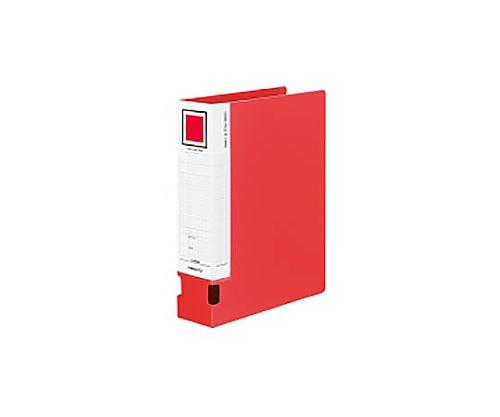 [取扱停止]チューブファイルVツイン(オール樹脂) A4縦60mmとじ 2穴赤 フ-VT660NR