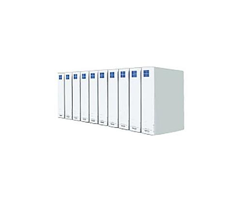 [取扱停止]チューブファイル(10冊パック) A4縦 50ミリとじ 2穴 シルバー VDフ-E8650CX10