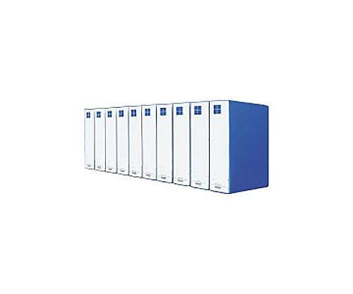 [取扱停止]チューブファイル(10冊パック) A4縦 60ミリとじ 2穴 青 VDフ-E8660BX10