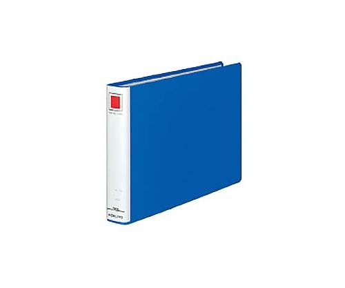 チューブファイル<エコ> A4横 30ミリとじ 2穴 青 フ-E635B