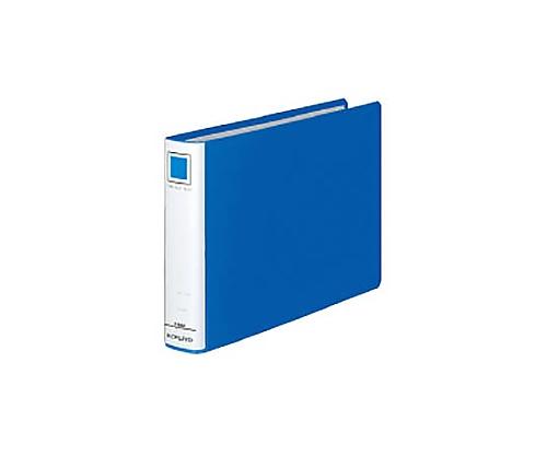 チューブファイル<エコ> B5横 30ミリとじ 2穴 青 フ-E636B