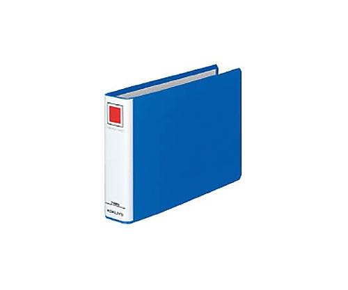 チューブファイル<エコ> A5横 30ミリとじ 2穴 青 フ-E637B