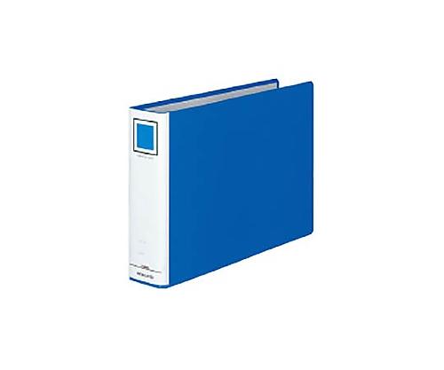 チューブファイル<エコ> A4横 50ミリとじ 2穴 青 フ-E655B
