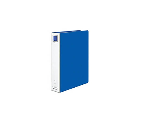 ガバットチューブファイル<エコツイン> A4縦 50・80ミリとじ 2穴 青 フ-GT680B
