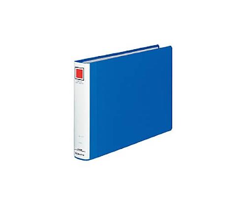 チューブファイル<エコツインR>(E型) A4横 30ミリとじ 2穴 青 フ-RT635B