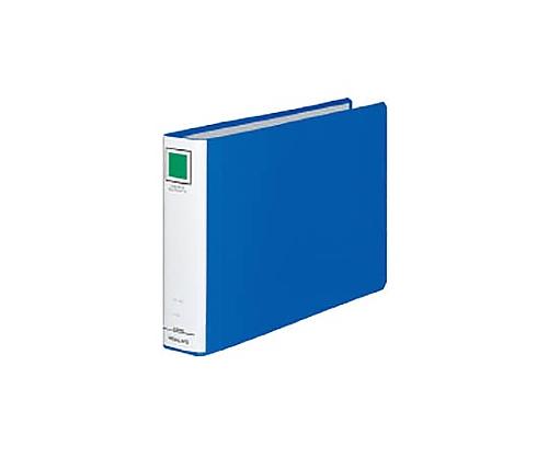 チューブファイル<エコツインR>(E型) A4横 40ミリとじ 2穴 青 フ-RT645B