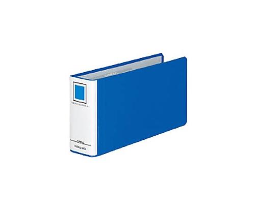 チューブファイル<エコツインR>(E型) B4 1/3横 50ミリとじ 2穴 青 フ-RT6519B