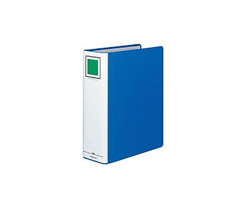 チューブファイル<エコツインR>(S型) A4縦 80ミリとじ 2穴 青 フ-RT680B