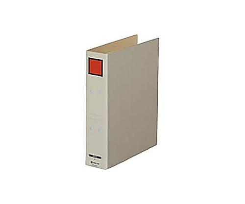 保存ファイルドッチ A4縦 2穴50ミリとじ スクエア色:赤 4075アカ