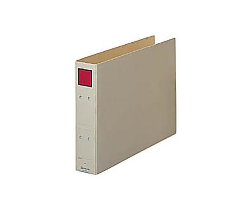 保存ファイル B4横 2穴50ミリとじ スクエア色:赤 4395E