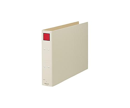 保存ファイル A3ヨコ 50mmとじ スクエア色:赤 5305E