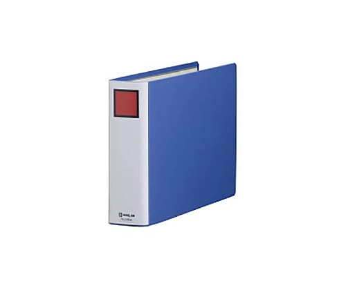 キングファイルSDDE A4E 青 2穴 50mmとじ 2485Aアオ