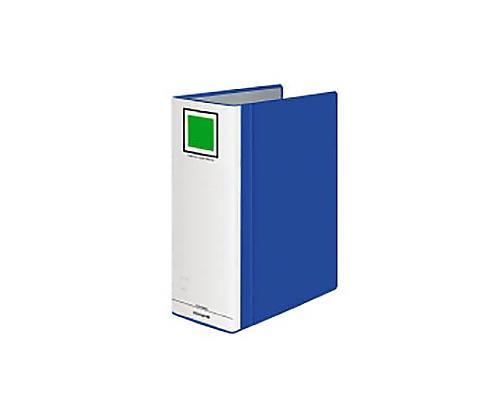 チューブファイル<エコツインR>間伐材 A4縦100mm1000枚収容青 フ-RTK6100NB