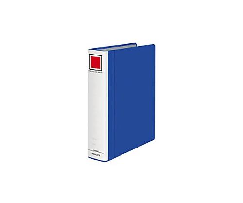 チューブファイル<エコツインR>間伐材 A4縦50mm500枚収容青 フ-RTK650NB
