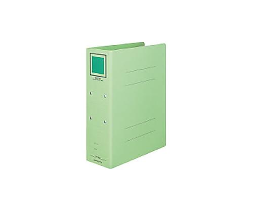 [取扱停止]チューブファイル<カラーボードツイン> A4タテ 80ミリとじ 2穴 緑 フ-T1680G