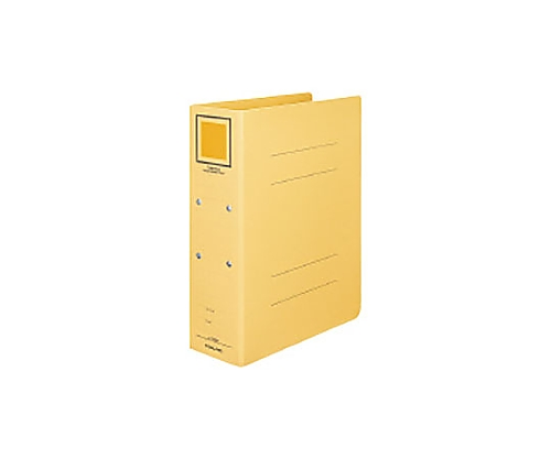 [取扱停止]チューブファイル<カラーボードツイン> A4タテ 80ミリとじ 2穴 黄 フ-T1680Y