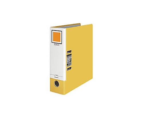[取扱停止]レバッチファイル<ジャパンスタンダード> A4縦 2穴 68ミリとじ 黄 フ-AL200Y
